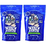 Celtic Sea Salt Resealable Bags, Fine Ground, 1 Pound, 2 Count