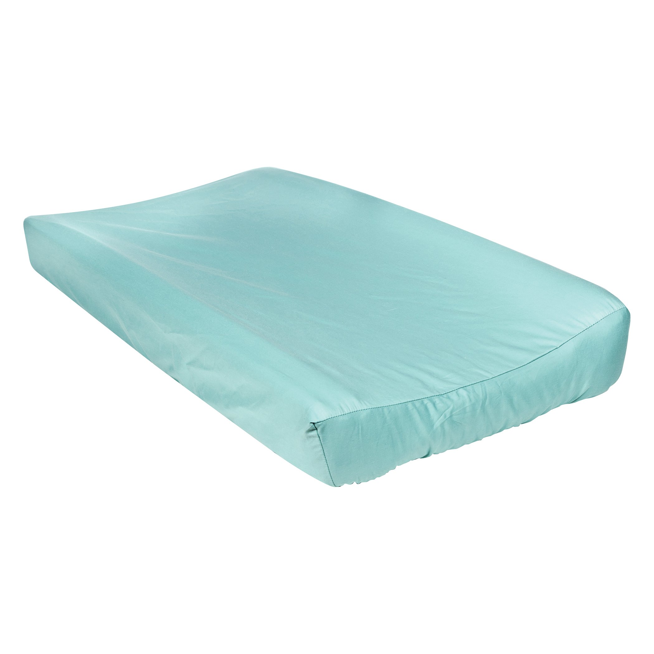 Trend Lab Waverly Pom Pom Play Changing Pad Cover, Teal