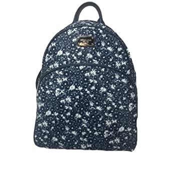 2448a1ad6037 Amazon.com | Michael Kors ABBEY Large Backpack, Navy Floral | Casual ...