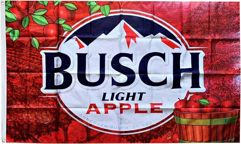 Dimike Busch Light Flag Apple of Famers Dilly Bud Light 3x5ft Banner