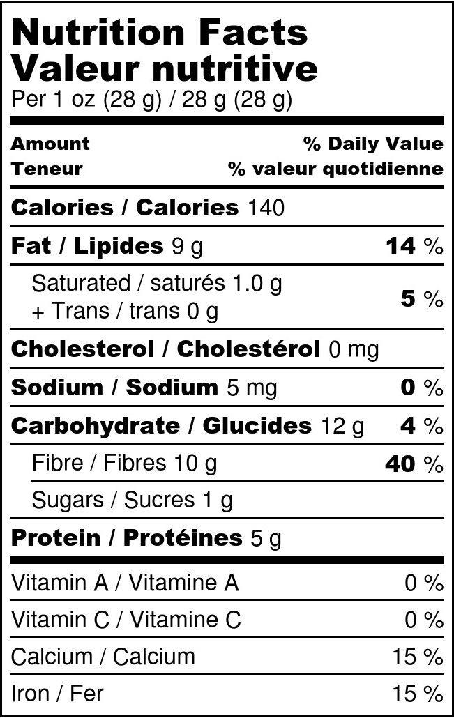 Food to Live Chia Seeds (Kosher) (25 Pounds)