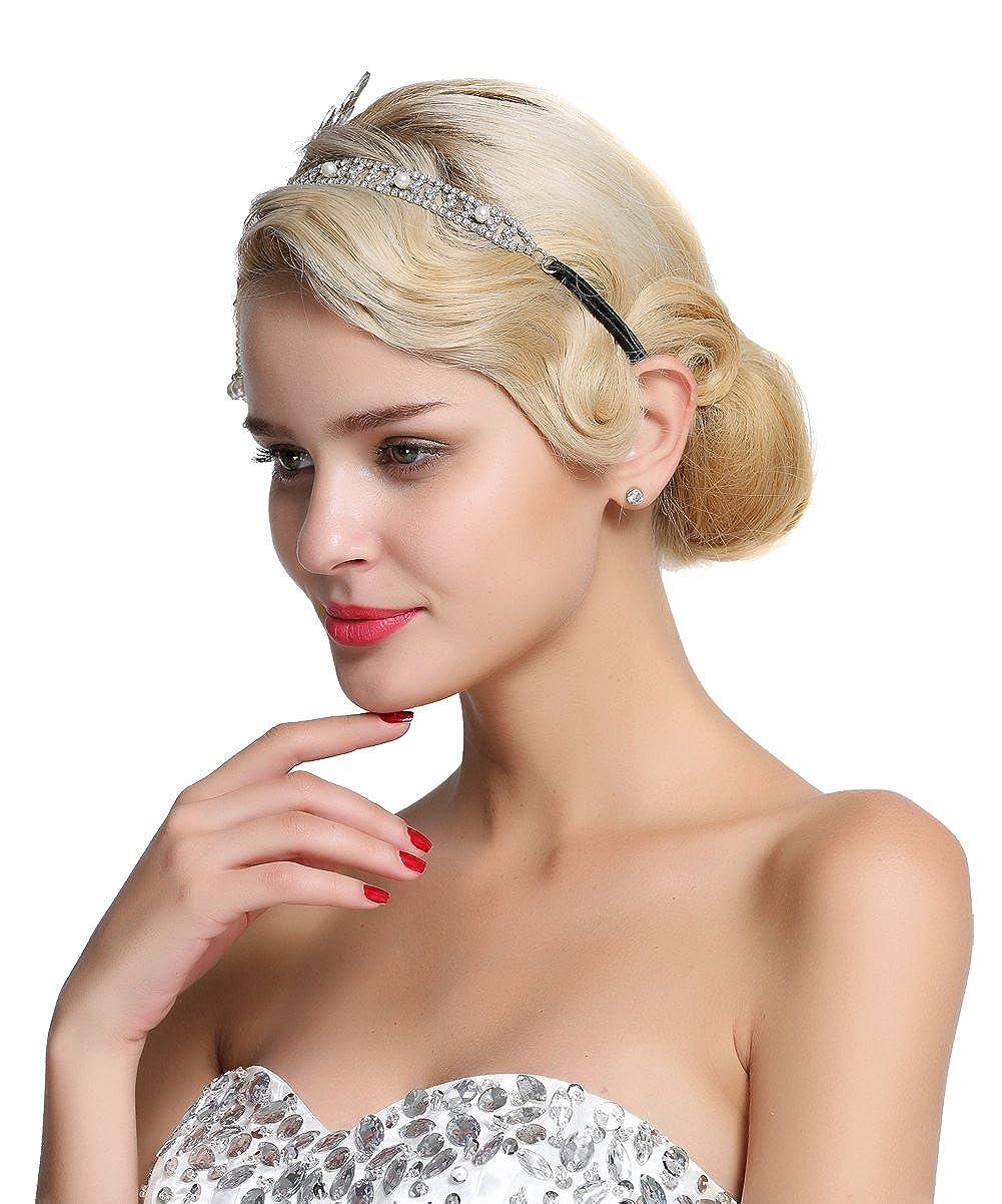 Fairy Couple Bandeau Cheveau Art Deco 1920s Plaque Great Gatsby