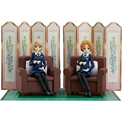 Max Factory Girls Und Panzer Das Finale: Darjeeling & Orange Pekoe Figma Action Figure Set: Toys & Games