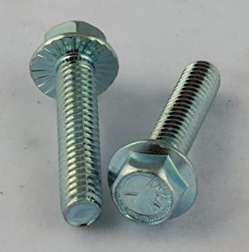 100 Pack #8 x 1//2 Hex Washer Head Screw 410 Stainless Steel Copper Plated