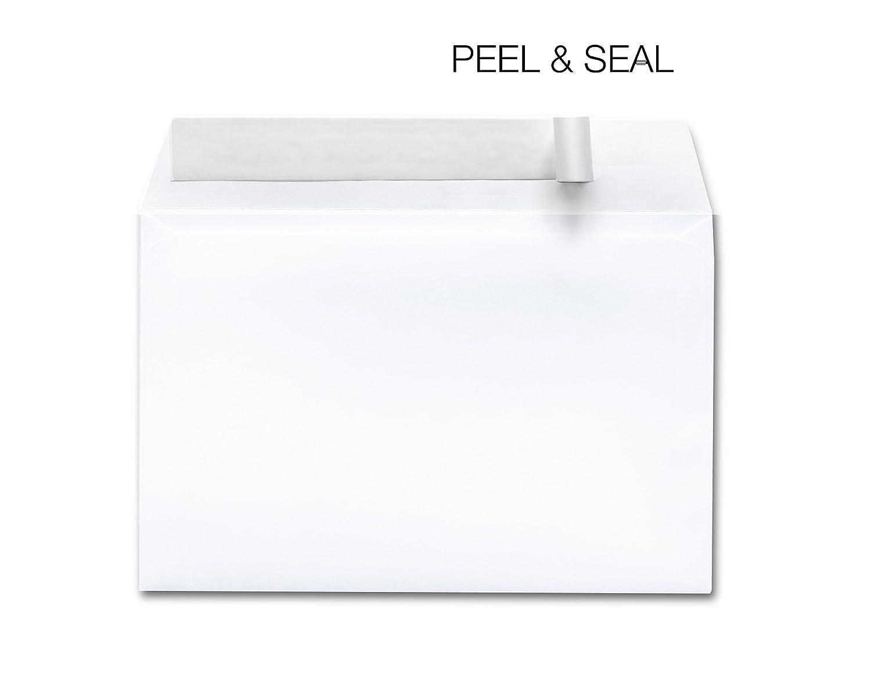 EnDoc 6x9 Envelopes Self Seal Booklet Color White 28 lb Envelope Open Side 6 x 9 250/Box BUS201