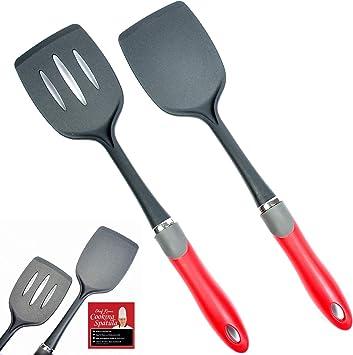 En acier inoxydable et Nylon Turner Superbe Qualité Meilleur pour la cuisine /& Poêle alimentaire