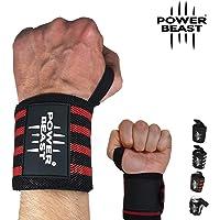 Power Beast Muñequeras Crossfit   Wrist Wraps Elásticas