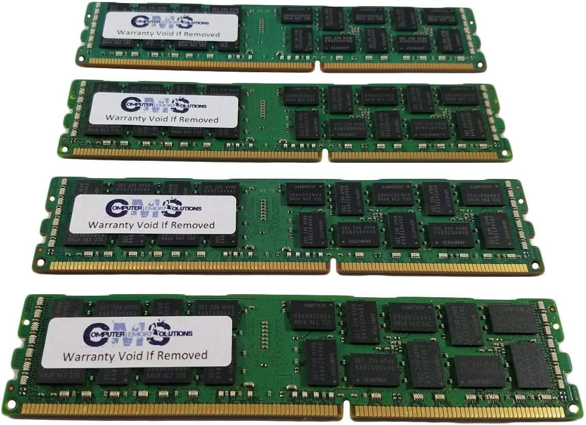 Memory RAM Compatible with ASUS Z9 Server Board Z9PA-D8 4x16GB 64GB Z9PA-D8C Z9PA-U8 for Servers Only by CMS C19