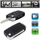 Electro-Weideworld - Caméra espion cachée dans un porte-clés de voiture Caméra espion cachée Porte-clé voiture DVR enregistrements vidéo Mini DV KeyChain caméra