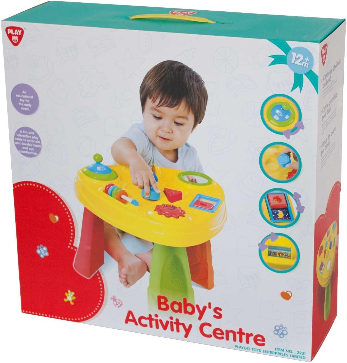 PlayGo 2231 – Bebés Actividades Mesa de Juegos, 51,5 x 38 cm ...