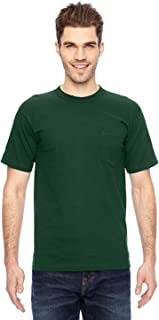 product image for Bayside BA7100 Basic Pocket T-Shirt - Forest Green - L