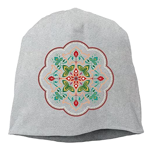 Fashion Rose Pattern Knitted Hat For Women Men Autumn Winter Hat Skullies Beanies For Female Male Knitted Cap Flower Hedging Cap Special Buy Apparel Accessories