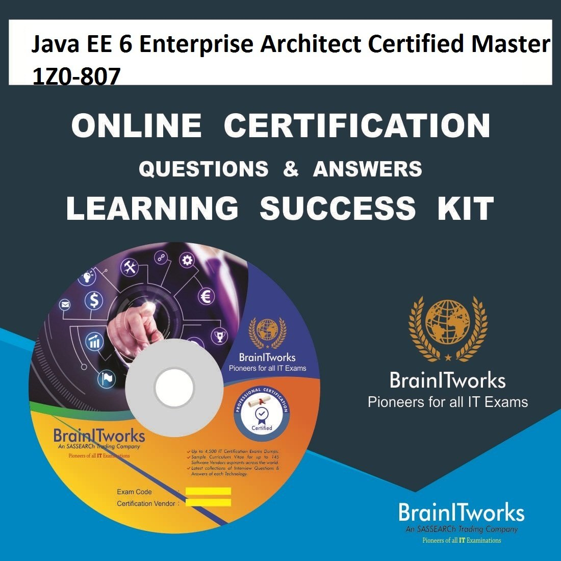 Java Ee 6 Enterprise Architect Certified Master 1z0 807 Online