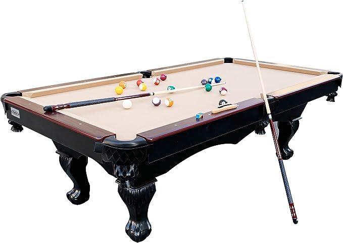 Rack Taurus Mesa de Billar de 8 pies, Incluye Juego Completo de Accesorios: Amazon.es: Deportes y aire libre