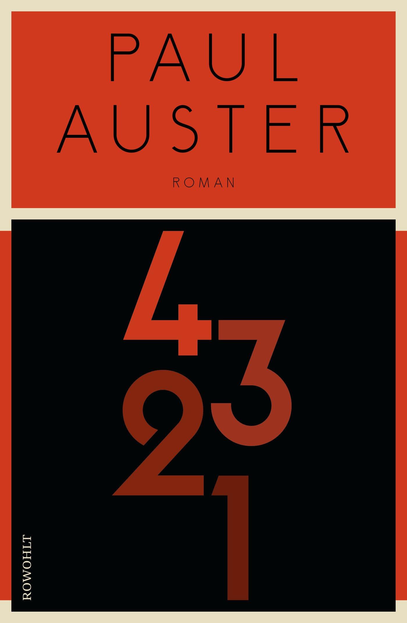 4321: Amazon.co.uk: Paul Auster, Thomas Gunkel, Werner Schmitz, Karsten  Singelmann, Nikolaus Stingl: 9783498000974: Books