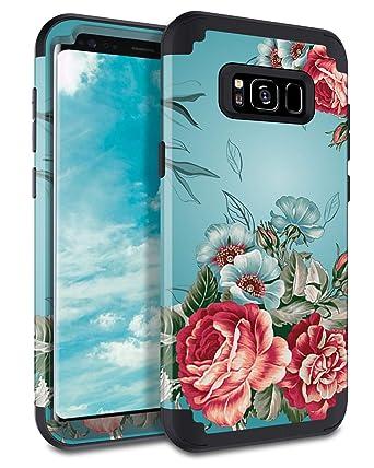Amazon.com: Lontect - Carcasa para Samsung Galaxy S8 Plus ...