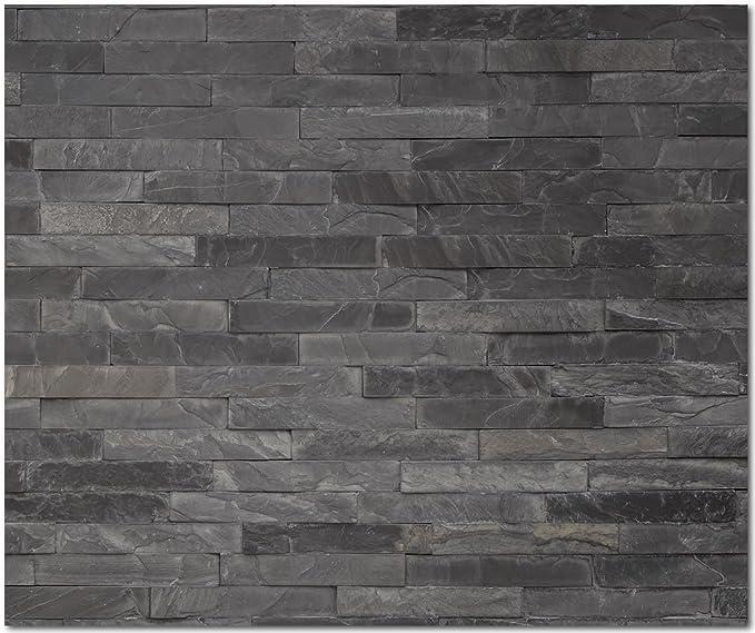 Wandverkleidung Küche  /< STEINWAND /> Premium Hart-PVC 0,4 mm selbstklebend