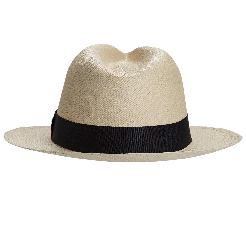 RACEU ATELIER Sombrero Panamá Cuenca Natural - Sombrero Mujer Hombre ... 13c69a3a328