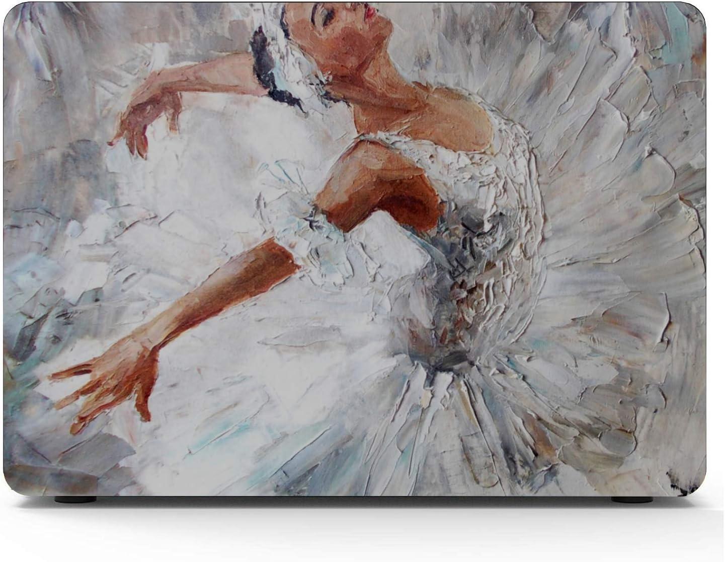 Bailarina Mujer Pintura al óleo Arte Baile Elegante Baile Macbook Air/Pro 11/12/13/15 Inch Estuche de plástico Estuche rígido Shell 13 Inch Macbook Estuche para computadora portátil Mac Macbook Pro: Amazon.es: Electrónica