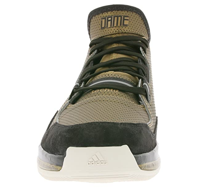 best website a8bda c4f1c adidas D lillard BHM mens basketball trainers D68944 sneakers shoes (uk 9  us 9.5 eu 43 1 3, SBROWN LBROWN NBROWN D68944)  Amazon.co.uk  Shoes   Bags