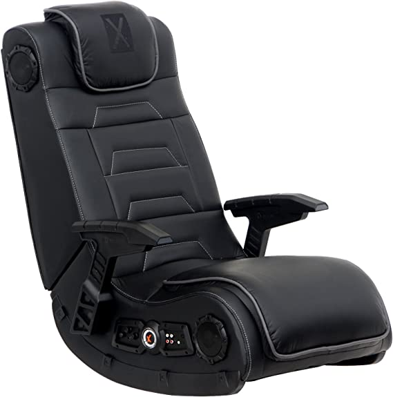 X Rocker Pro Series H3 Black Leather Gaming Chair - Quality