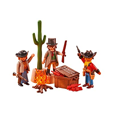 Playmobil Add On 6546 Western Bandits: Toys & Games