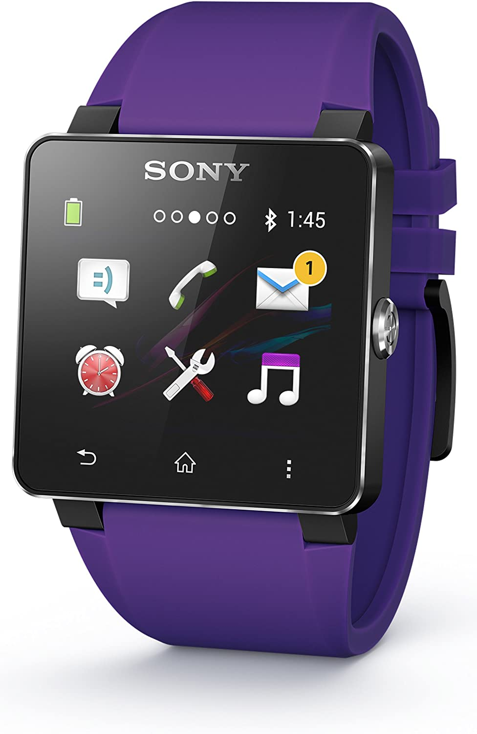 Sony SE20 - Correa para Sony Smartwatch 2, color lila: Sony ...