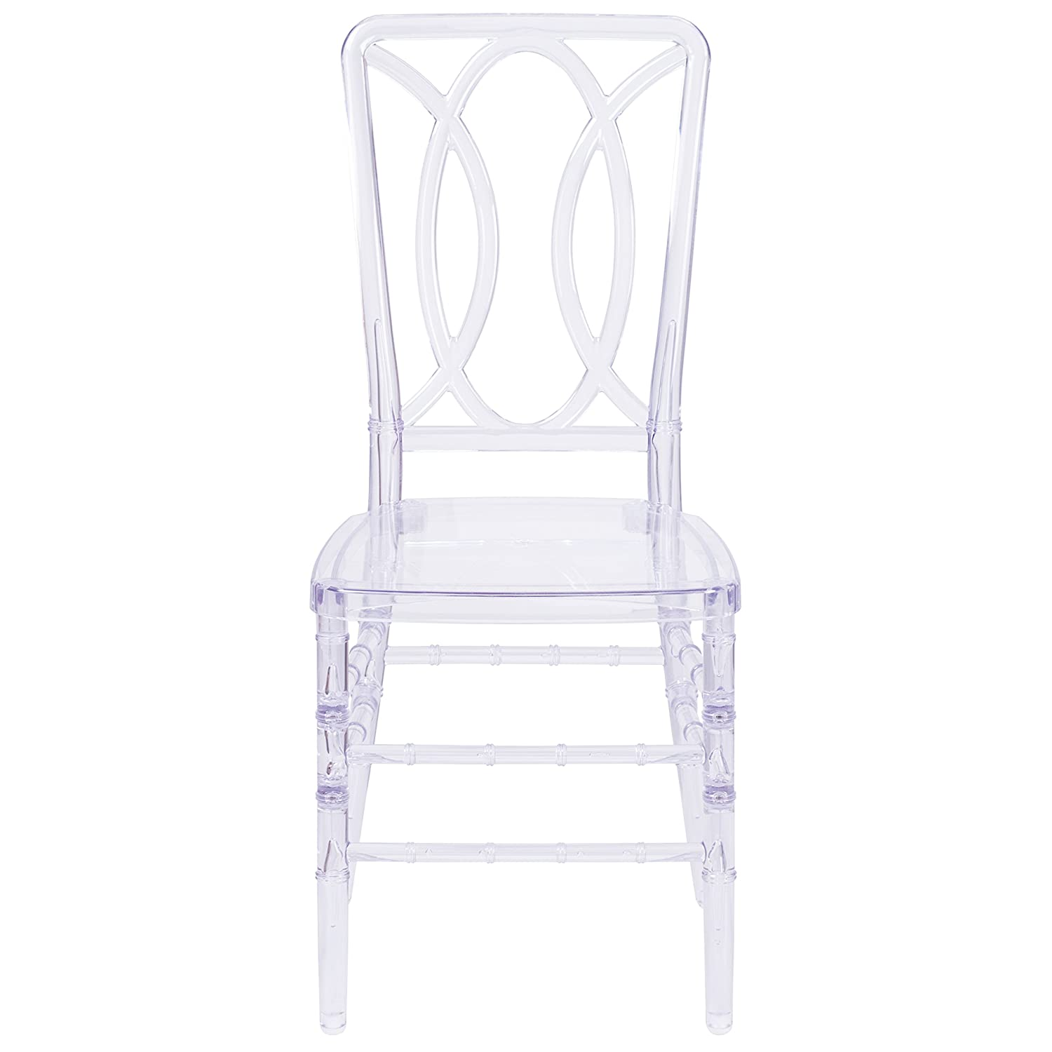 Flash Furniture Flash Elegance Crystal Ice Stacking Chair