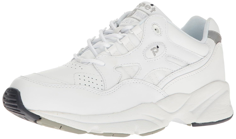 Propét Men's Stability Walker Sneaker 17 3E US|White