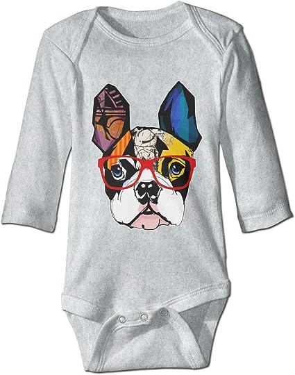 XHX Newborn Baby Pug Short Sleeve Romper Onesie Bodysuit Jumpsuit