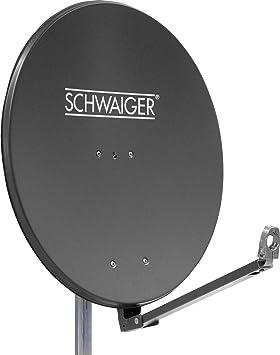 Schwaiger Spi910 1 Aluminium Offset Parabolantenne Elektronik