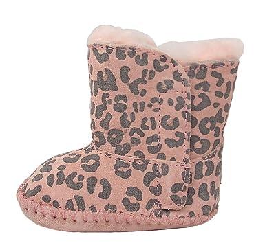 e7bc1ef09c1 Ugg Australia Cassie Leopard Toddler Boots Pale Pink/ S (2-3 ...