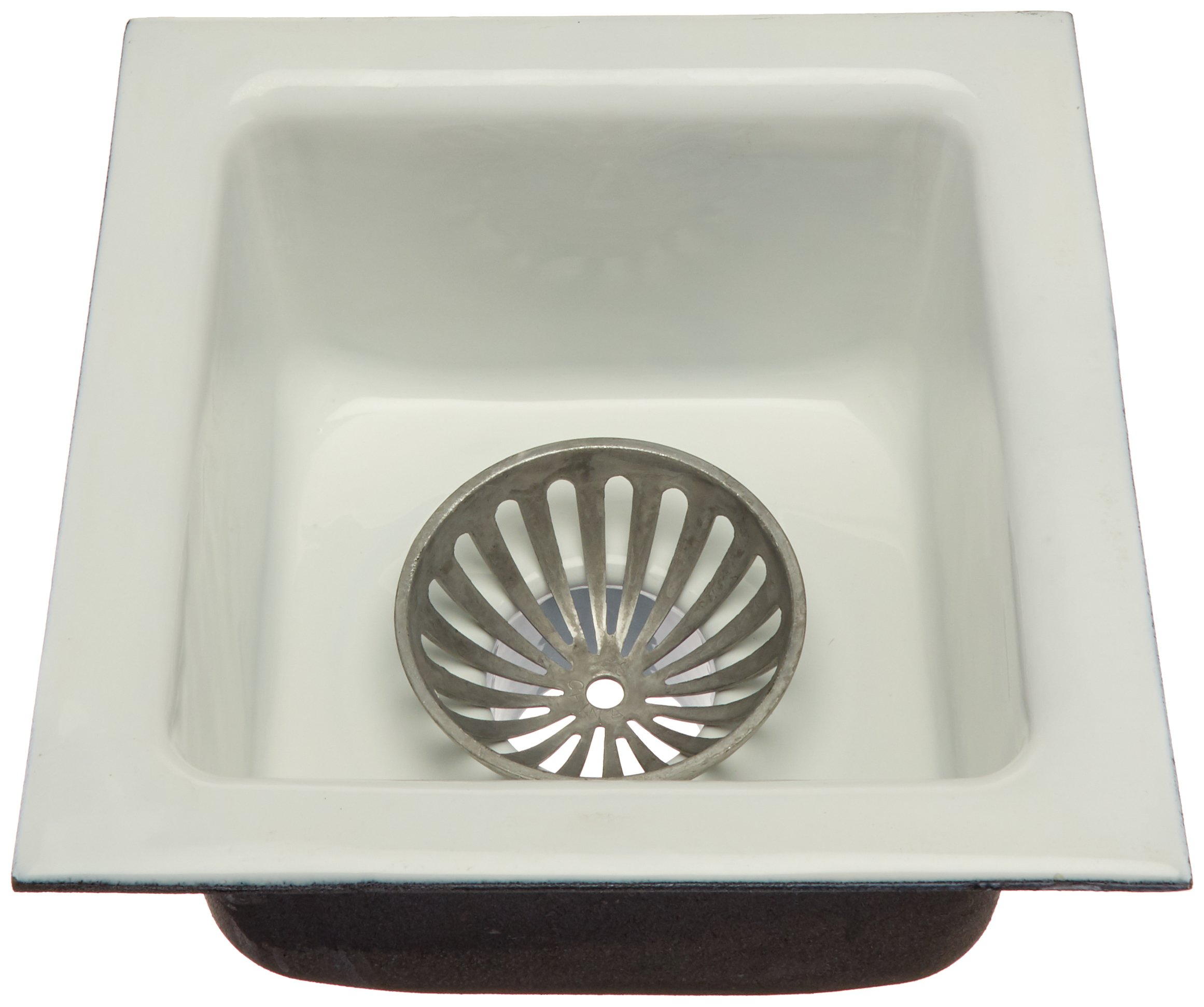 IPS 60401 12'' x 12'' x 6'' Floor Sink No Hub by IPS