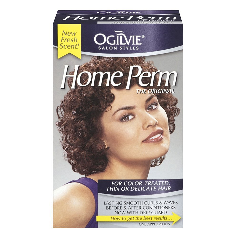 Ogilvie Home Perm Colortreated Thin Or Delicate Hair 1 Oz Amazon