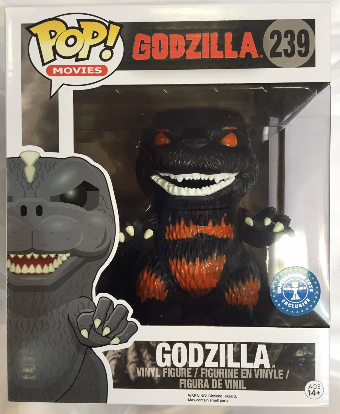 Burning Godzilla GTS Exclusive 6'' POP Vinyl by FunKo