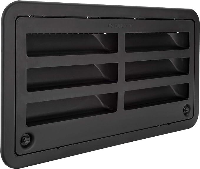 Dometic3109492004Refrigerator Sidewall Access Vent Black