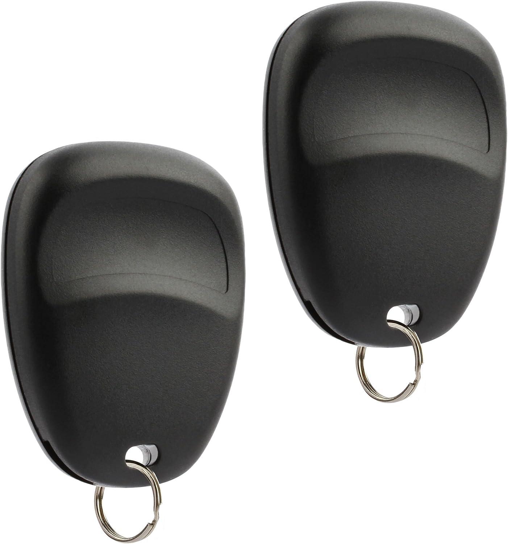 15008008 Car Key Fob Keyless Entry Remote with Ignition Key fits Chevy Trailblazer//Buick Rainier//GMC Envoy//Isuzu Ascender//Oldsmobile Bravada//Saab 9-7x