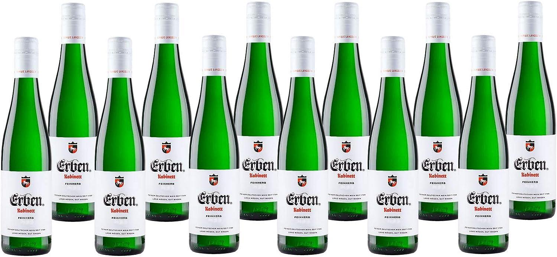 ERBEN Kabinett Feinherb 12 X 12.12 L – Weißwein aus Deutschland –  Prädikatswein Rheinhessen