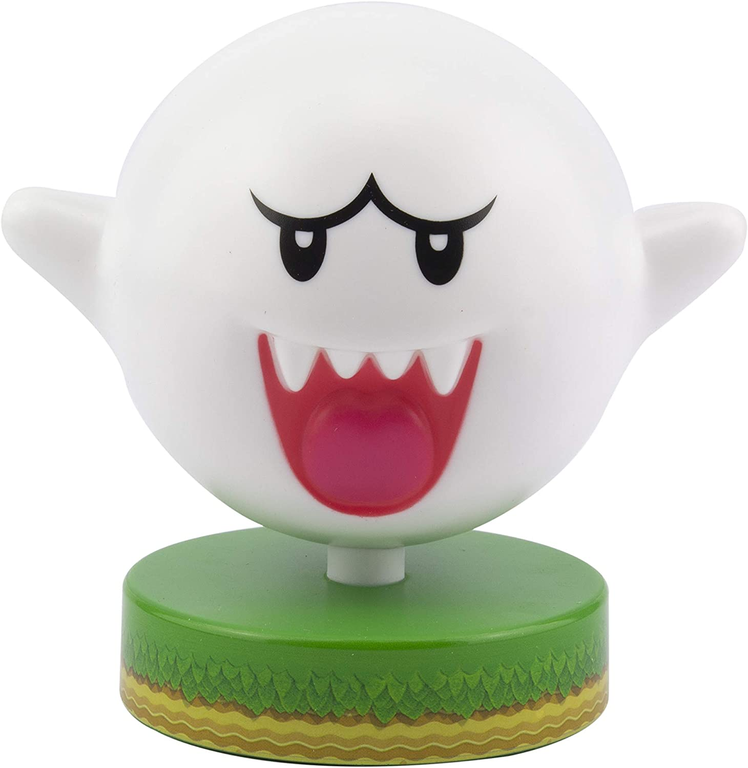 Super Mario Bros. Boo Ghost 3D Night Light - Decorative Lamp Collectible