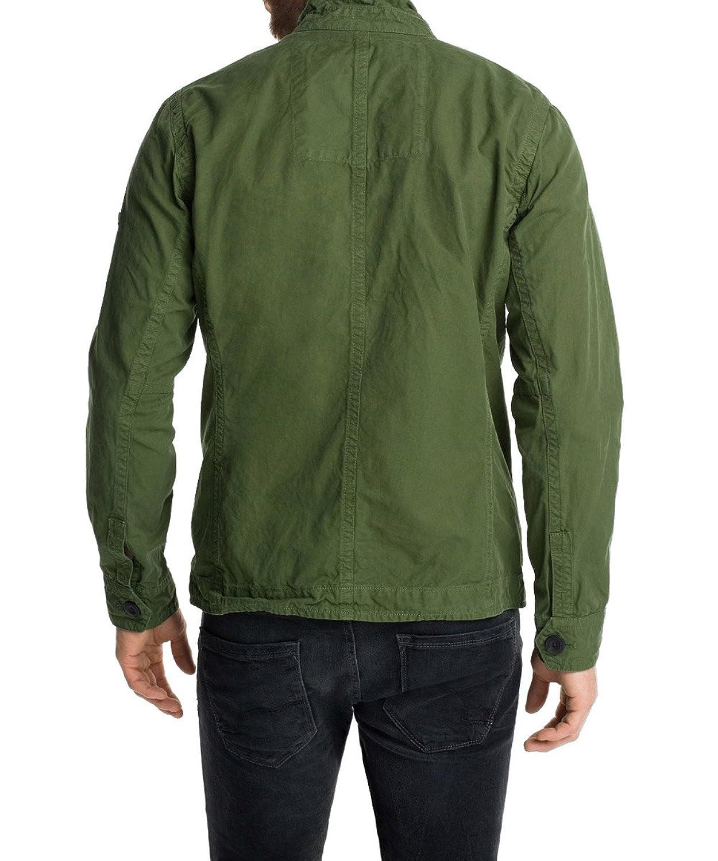 ESPRIT Herren Jacke aus Baumwolle, Gr. Medium, Grün (FERN GREEN 340):  Amazon.de: Bekleidung