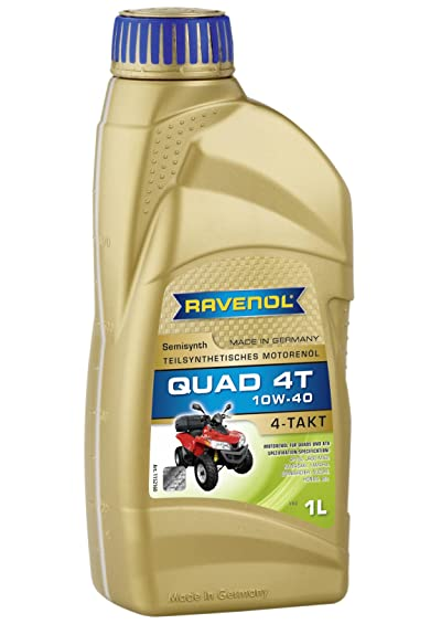 RAVENOL J1V1401 SAE 10W-40 4-Stroke ATV Quad Oil