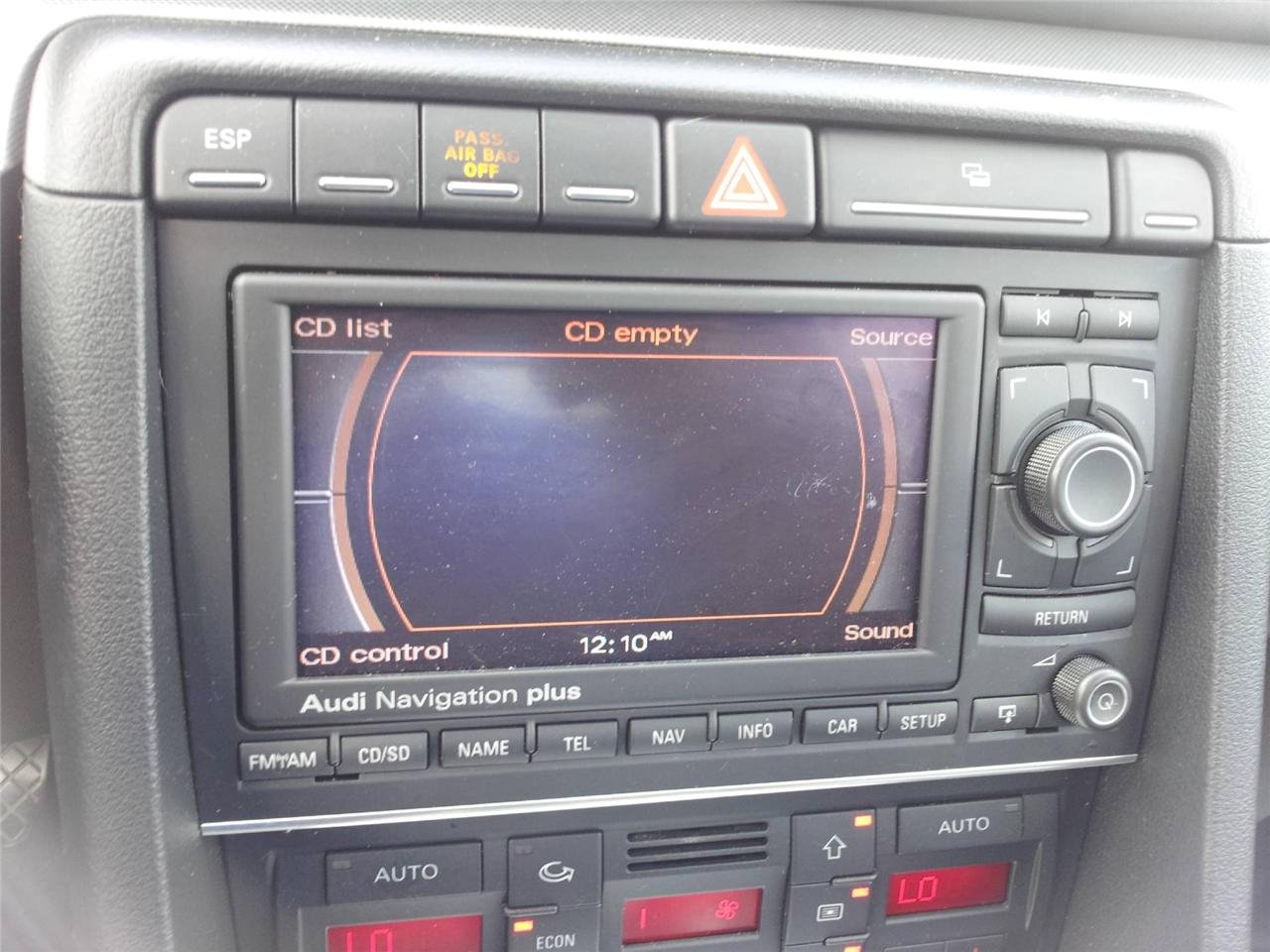 Amazon.com: AUDI RNS-E Navigation GPS System LCD Display DVD CD Player for  Audi S4 A4 (E.C.A.P): Cell Phones & Accessories