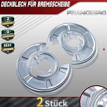 2x Deckblech Spritzblech Ankerplatte Hinten f/ür Sprinter 3,5 T 3-T 906 2E 2006-2019 2E0615311