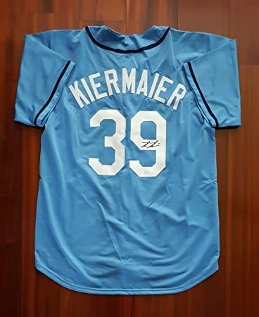 separation shoes 9ce45 68eaa Kevin Kiermaier Autographed Signed Jersey Tampa Bay Rays JSA ...