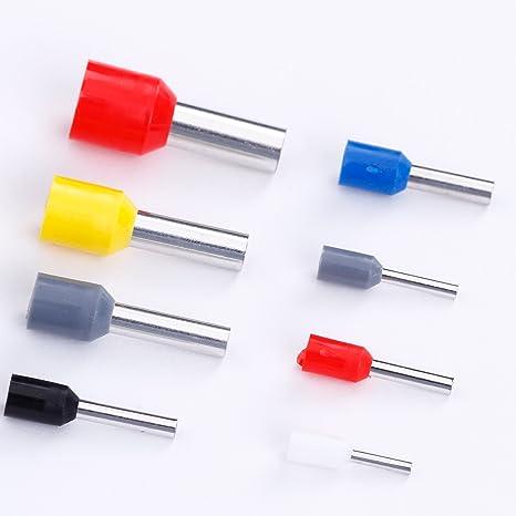 /10,00qmm Guantes Set Connector de cable aislados Crimp 1200/Stueck superior endh uelsen superior endh uelse en surtido 0,5/