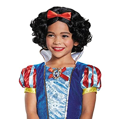 Snow White Deluxe Child Wig, One Size: Toys & Games