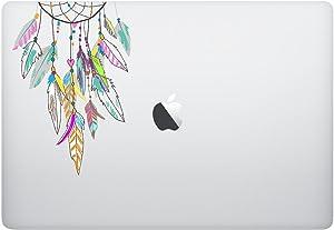Epic Designs Laptop Sticker - Colorful Dream Catcher- Matte Black Skins Stickers
