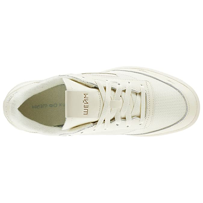 5de8f474a546e Reebok Club C 85 x Walk of Shame (Olympic Creme Yellow Fila) Men s Shoes  CN6982  Amazon.co.uk  Sports   Outdoors