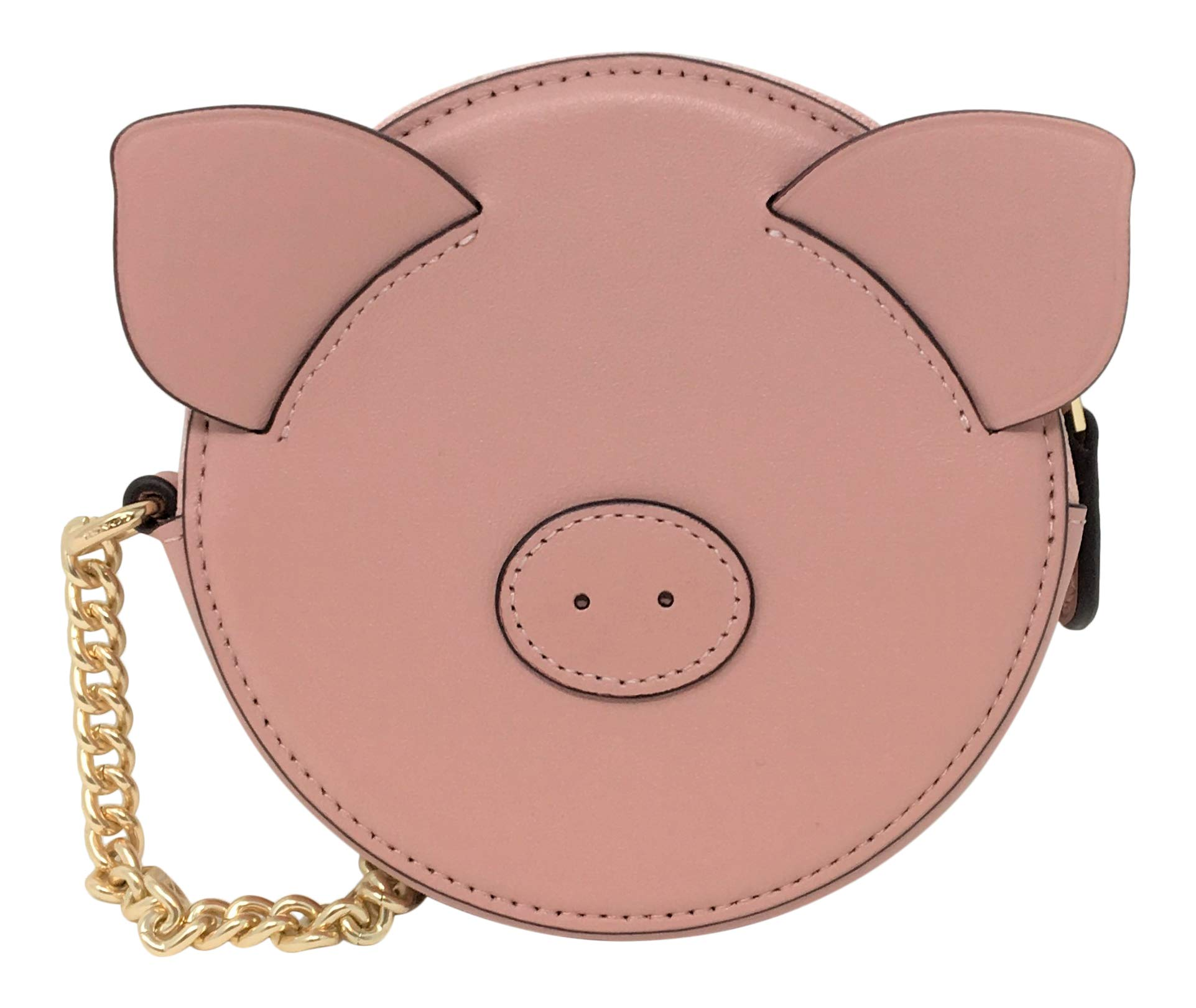 Coach Lunar New Year Pig Coin Case F53619 Pink