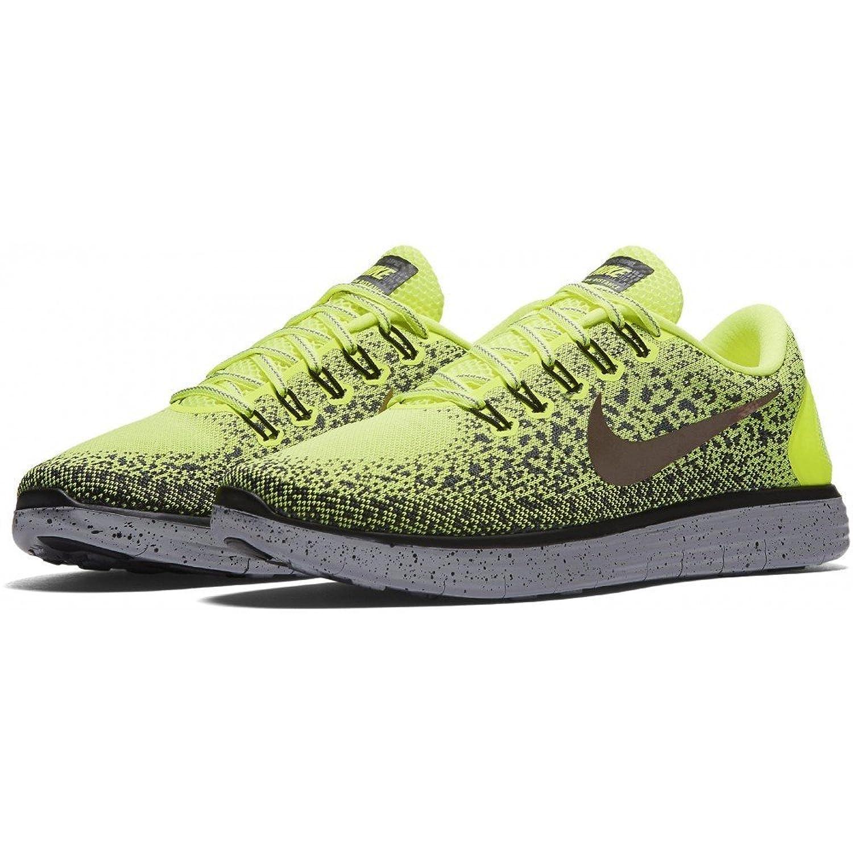new style 5fb50 04b45 Amazon.com   Nike Mens Free RN Distance Shield Nylon Running Shoes   Road  Running
